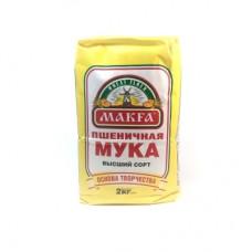 Мука пшеничная MAKFA 2кг