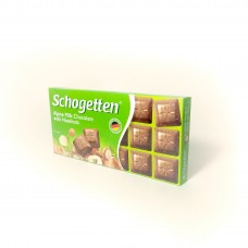Schogetten Alpine Milk Chocolate with Hazelnuts