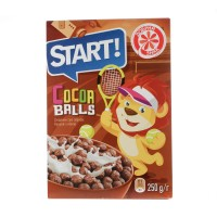 """Сухой завтрак """"Star"""" шоколадные шарики 250гр"""