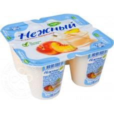 Йогуртовый продукт Campina Нежный с персиками 4x100г