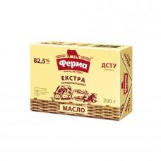 Масло Ферма Экстра сливочное 82,5% 200г