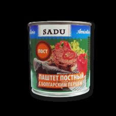 """Паштет постный с болгарским перцем """"Sadu"""" 300g"""