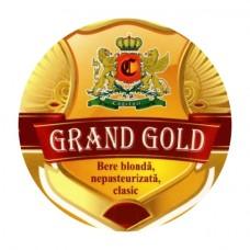 """Пиво светлое """"Grand Gold"""" 1l"""
