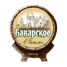 """Пиво светлое """"Баварское"""" 1l"""