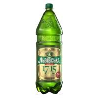 """Пиво """"Львовское 1715"""" 2,4 l"""