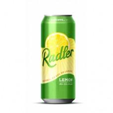 """Пиво """"Radler"""" Lemon 0.5 l"""